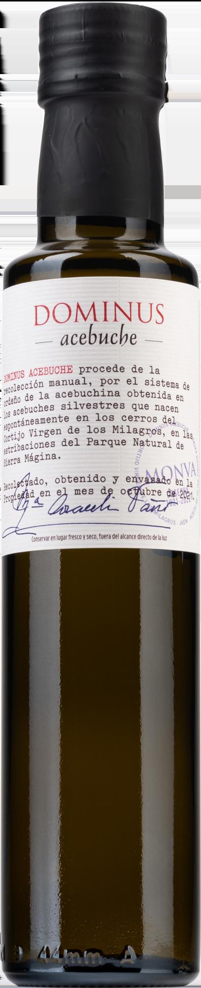 Aceite de Oliva Virgen Extra Dominus Acebuche 250ml.